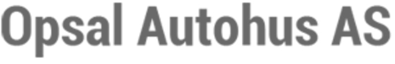 Opsal Autohus AS logo