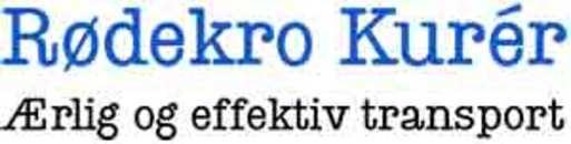 Rødekro Kurér A/S logo