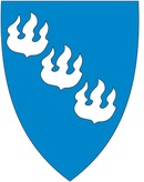 Turistinformasjon Høyanger logo