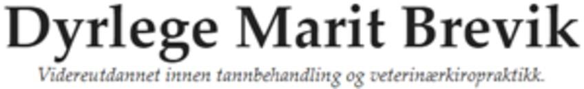 Dyrlege Marit Brevik logo
