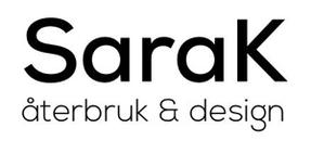 SaraK återbruk Och design logo