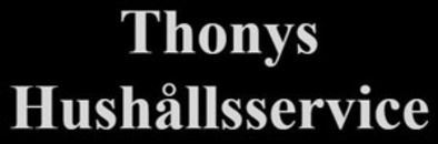 Thonys Hushållsservice AB logo