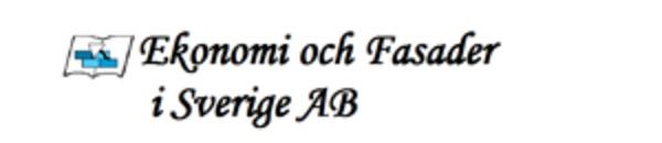 EFAB Ekonomi & Fasader i Sverige AB logo