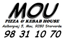 Mou Pizza & Kebab House logo