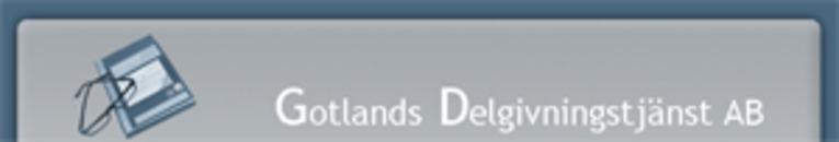 Gotlands Delgivningstjänst AB logo