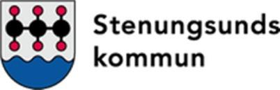 Trafik, infrastruktur Stenungsunds kommun logo
