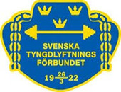 Tyngdlyftningsförbundet logo