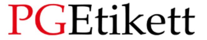 Pg Etikett AB logo