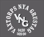 Våxtorps Nya Grustag AB logo