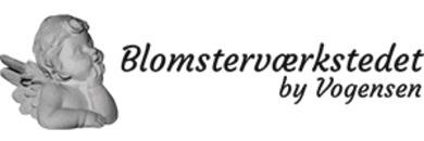 BLOMSTERVÆRKSTEDET Vogensen & Faurholt logo