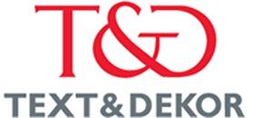 Text & Dekor Sanfridsson AB logo