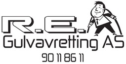 R E Gulvavretting AS logo
