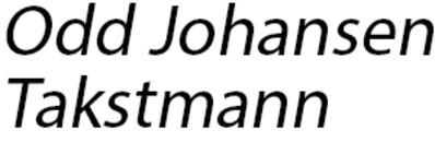 Odd Johansen Takstmann logo