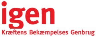 Igen - Kræftens Bekæmpelse Genbrug logo