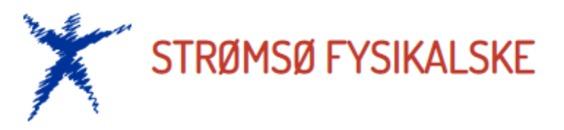 Strømsø Fysikalske Institutt DA logo