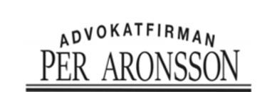 Advokatfirman Per Aronsson logo