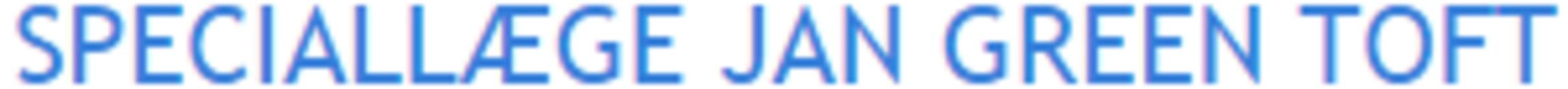 Øre- næse- halsspecialisten Jan Green Toft logo