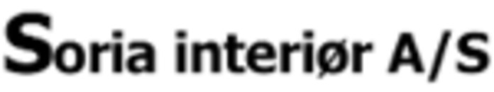 Soria Interiør A/S logo