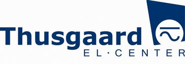 Thusgaard El-Center logo