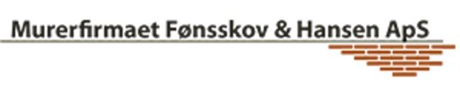 Murerfirmaet Fønsskov & Hansen ApS logo
