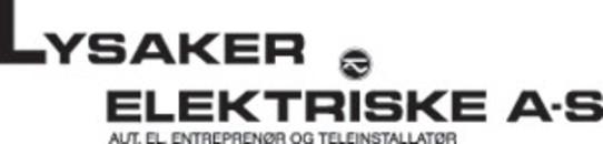 Lysaker Elektriske AS logo