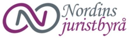 Nordins Juristbyrå AB logo