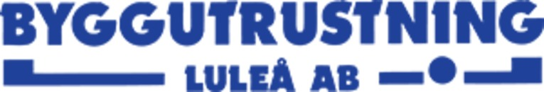 Byggutrustning Luleå AB logo
