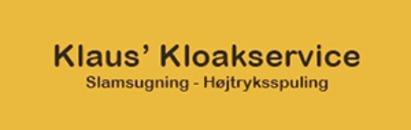 Klaus' Kloakservice ApS logo