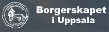 Borgerskapet i Uppsala logo