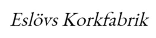 Eslövs Korkfabrik logo