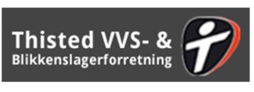 Thisted VVS- & Blikkenslagerforretning A/S logo
