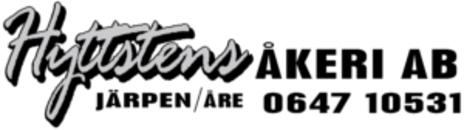Hyttsten Åkeri i Järpen AB logo
