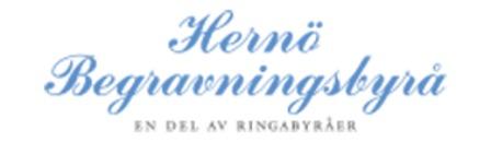 Hernö Begravningsbyrå logo