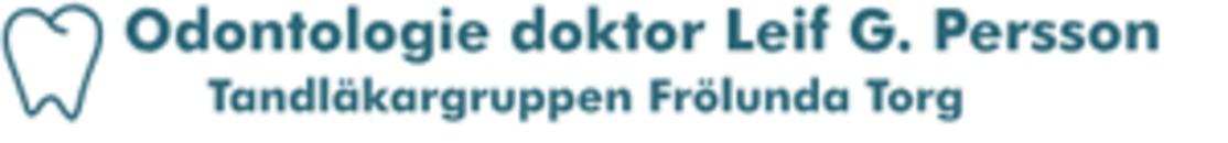 Tandläkargruppen Frölunda Torg, Leif G. Persson logo