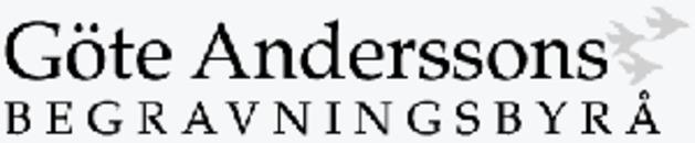 Göte Anderssons Begravningsbyrå logo