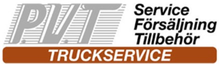 P V T Truckservice logo