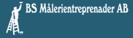 B.S. Målerientreprenaden AB logo