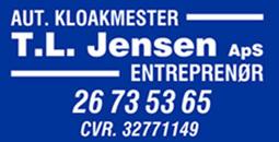 TL Jensen Entreprenør og Aut. Kloakmester ApS logo