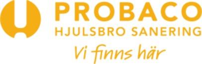 Probaco Hjulsbro Sanering Linköping logo