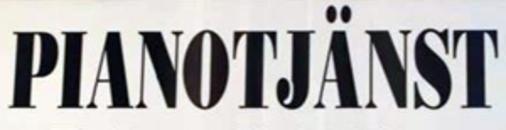 Pianotjänst Per Sallerbäck logo