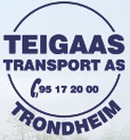 Teigaas Transport AS logo