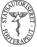 Statsautoriseret fodterapeut Stine Lund Boskovski logo