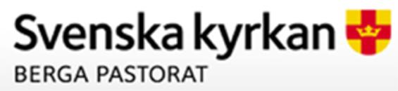 Berga Pastorat Lagan logo