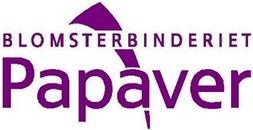 Blomsterbinderiet Papaver logo