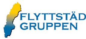 Flyttstädgruppen i Sverige AB logo