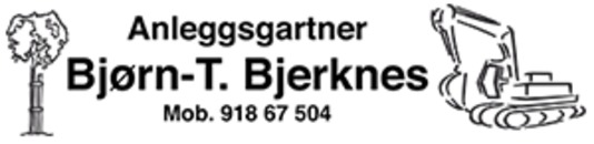 Anleggsgartner Bjørn T Bjerknes AS logo