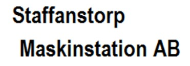 Staffanstorps Maskinstation AB logo