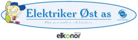 Elektriker Øst AS logo