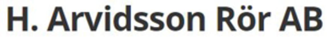 H Arvidssons Rör AB logo