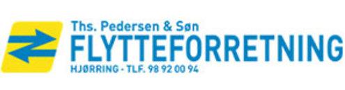 Hjørring flytteforretning ApS, Ths. Pedersen & Søn logo